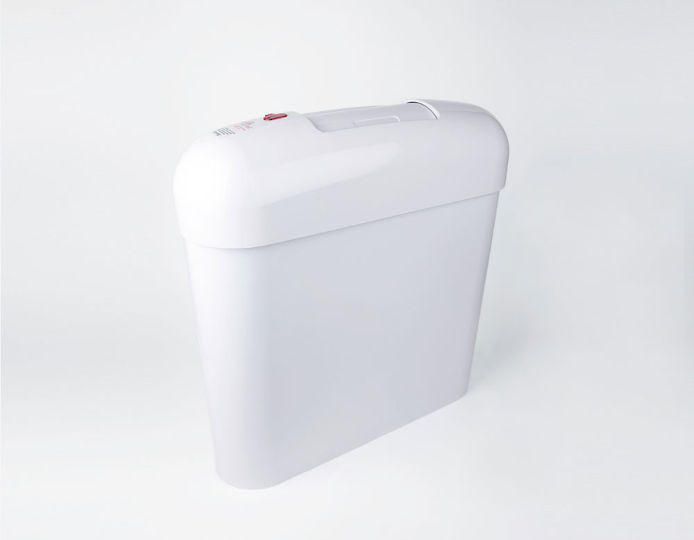 ladies hygiene bin with closed drop lid, hygiene bins for ladies toilets, hygienic waste bin for feminine hygiene products sense femcare ladies hygienic bin