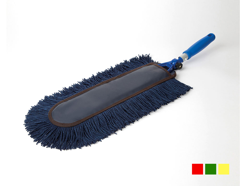 soap-impregnated hand mop with biodegradable soap, hand duster