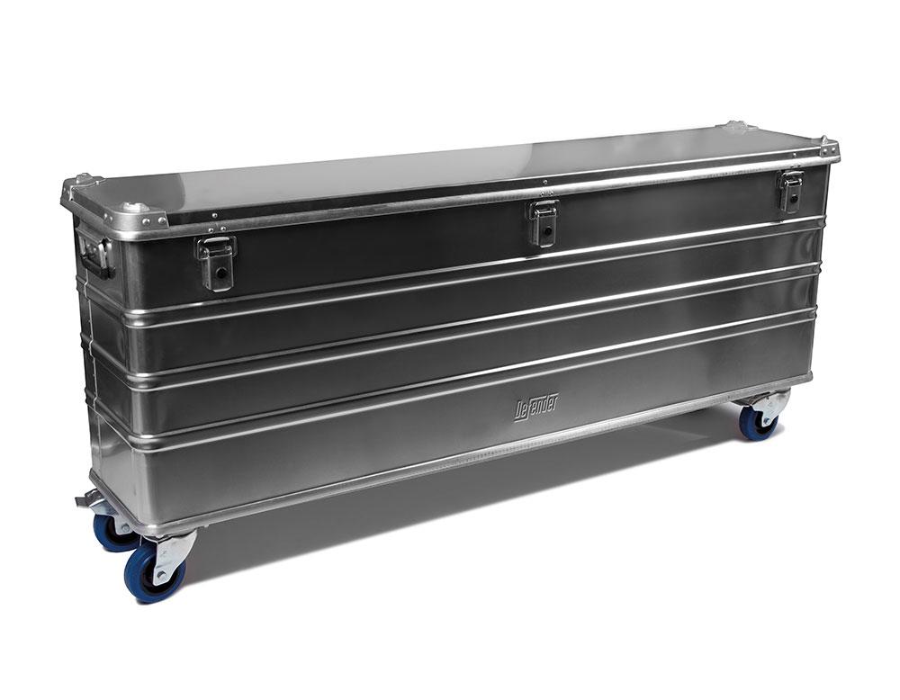 aluminium opbergkist die afgesloten kan worden, Easy Clean schoonmaakproducten