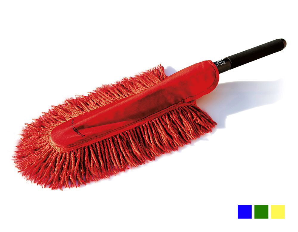 oil-impregnated hand mop for industrial cleaning of heavily soiled surfaces, professional hand duster