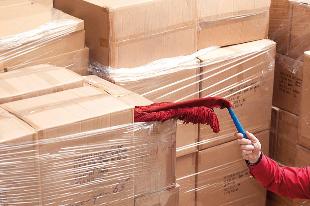 Easy Clean handwisser, professionele producten voor bedrijfshygiëne, dust control en vloerhygiëne