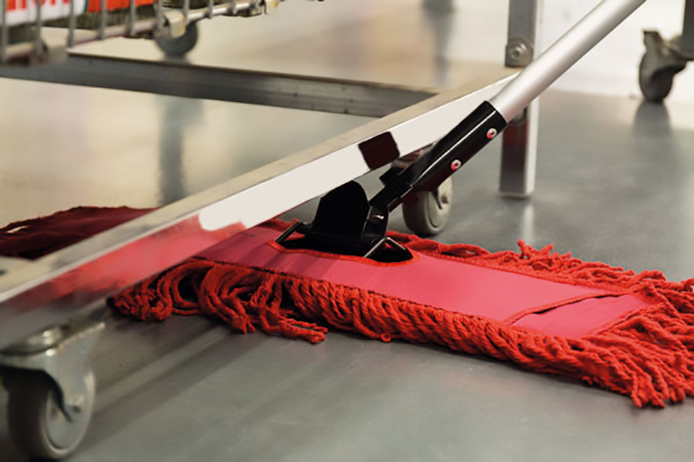 Easy Clean floor mop, professional products for industrial hygiene, dust control and floor hygiene